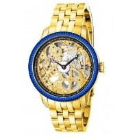 インビクタ 時計 インヴィクタ メンズ 腕時計 Invicta Men's 80013 Specialty Mechanical Gold Tone Skeleton Dial 18k Gold...