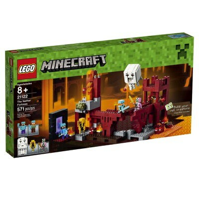 LEGO レゴ マインクラフト 21122 ネザー砦 Minecraft the Nether Fortress レゴブロック・お取寄