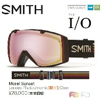 16-17 SMITH スミス ゴーグル I/O アイオー MOREL SUNSET / PHOTOCHROMIC RED SENCOR