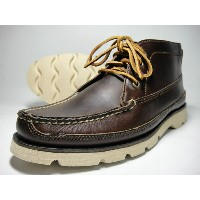 SPERRY TOPSIDER スペリートップサイダー Boat Chukka by Made in Maine ボートチャッカブーツ(Dark Brown Leather)