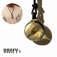 【VIVIFY 正規店】VIVIFY ビビファイ ネックレス グラス ガラスTopnoch Leather Necklace(L) 受注生産