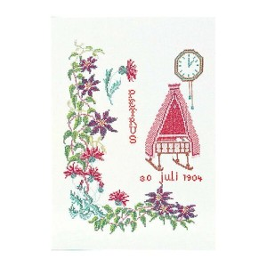 Thea Gouverneur クロスステッチ刺繍キットNo.867 「July」(7月) テア・グーヴェルヌール 【取り寄せ/納期40~80日程度】