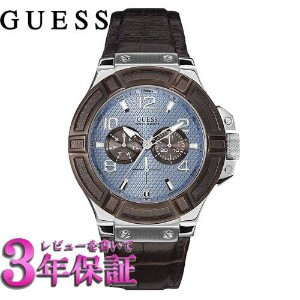 GUESS ゲス 腕時計 GUESS WATCHES(ゲス ウォッチ) RIGOR W0040G10 メンズ 46mmサイズ【正規品】【名入れ】【包装】【ギフト】【送料無料】10P02Sep17