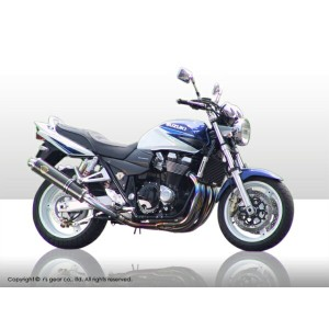 【rs gear】【アールズギア】【マフラー】GSX1400 Twin type ツイン ソニック 真円チタン【SS01-02TI】※納期3週間程度【送料無料】