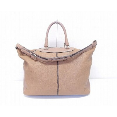TOD'S(トッズ) 2WAY レザー ミキーバッグ MIKY BAG【中古】