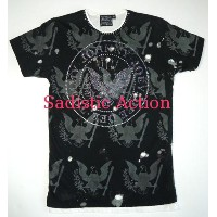 【即納】iconic couture×Sadistic Action RAMONES Men's T GRY 【iconic couture】【ICO-RAMONES-BUR/BD-M】
