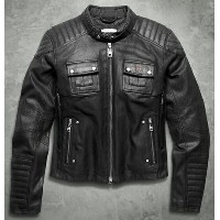 【98115-16vw】Quilted Coated Denim Riding Jacket XS/S/M/L/XL◆ハーレー◆