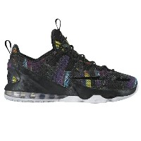 "Nike LeBron XIII 13 Low ""Cosmic Purple"" メンズ Black/Cosmic Purple/White ナイキ バッシュ レブロン・ジェームス"