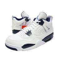 NIKE AIR JORDAN IV RETRO LS【LEGEND BLUE】White/Legend Blue-Midnight Navyナイキ エア ジョーダン 4 レトロ LS 白紺