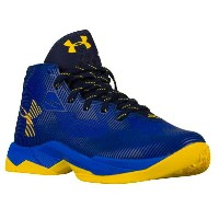 """Under Armour Curry 2.5 """"Dub nation""""キッズ/レディース Royal/Yellow アンダーアーマー カリー2.5 バッシュ ステフィン・カリー"""