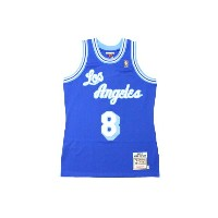 MITCHELL&NESS AUTHENTIC THROWBACK JERSEY (LOS ANGELES LAKERS 1996-97/KOBE BRYANT: BLUE)ミッチェル&ネス...