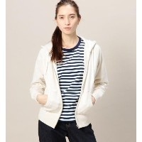 BY TRADITIONAL 吊り裏毛ジップパーカー【ビューティアンドユース ユナイテッドアローズ/BEAUTY&YOUTH UNITED ARROWS レディス パーカー OFF WHITE...