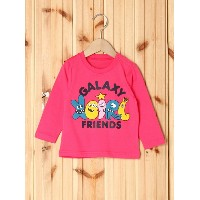 【SALE/35%OFF】X-girl Stages L/S TEE GALAXY FRIENDS(12M~3T) エックスガールステージス カットソー【RBA_S】【RBA_E】
