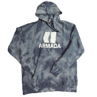 18'ARMADA「CLASSIC PULLOVER HOODY」BLACK WASHカッコいい!