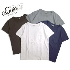 GOWEST(ゴーウエスト) LOOSE S/SL TEE W/Pocket