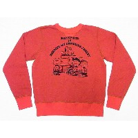 Buzz Rickson's[バズリクソンズ]×PEANUTS[ピーナッツ] スウェット スヌーピー BR67464 SNOOPY MY FAVORITE JACKET (RED) 送料無料...
