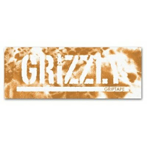 グリズリー GRIZZLY/New Wave Stamp Logo Sticker in Orange ステッカー