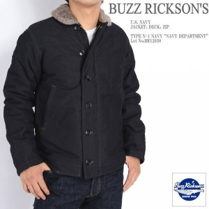 "BUZZ RICKSON'S バズリクソンズ N-1 デッキジャケット Type N-1 NAVY ""NAVY DEPARTMENT"" BR12030"