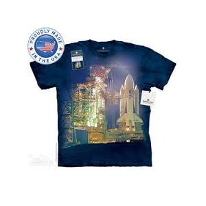 The Mountain Tシャツ The Smithsonian Columbia Mission STS-1 (The Smithsonian 宇宙 スペースシャトル メンズ レディース...