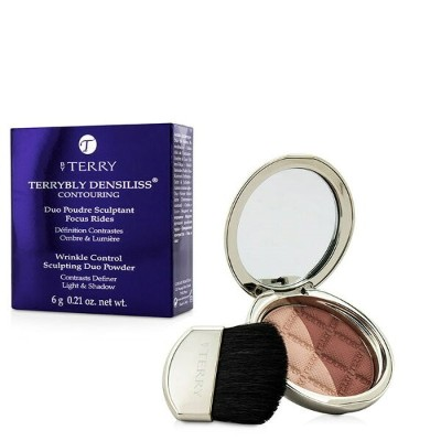 By TerryTerrybly Densiliss Blush Contouring Duo Powder - # 400 Rosy Shapeバイテリーテリーブリー デンシリス ブラッシュ...