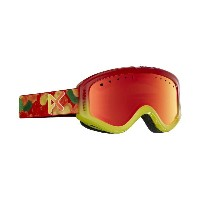 ANON TRACKER Gummy / Red Amber 2017 YOUTH GOGGLE 【正規品】【30%OFF】