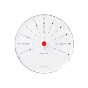 ARNE JACOBSEN Bankers Thermometer(温度計) 120mm(43687 Bankers 温度計 120mm)