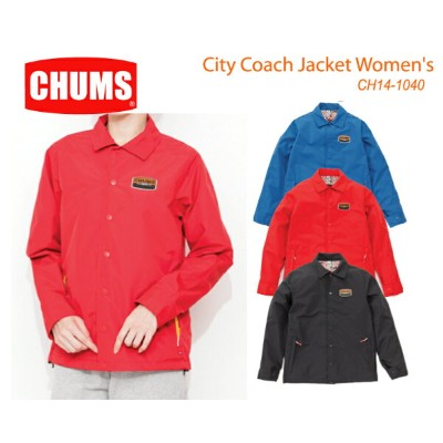 CHUMS チャムス CH14-1040 City Coach Jacket Women's シティコーチジャケット  ※取り寄せ品