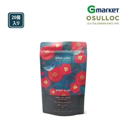 【O'Sulloc】【オソルロック】オソロック ツバキが咲き誇る森/O'Sulloc Jeju Comello Fower Blending Tea/20個入り/オソルロック/オソルロッ/O...