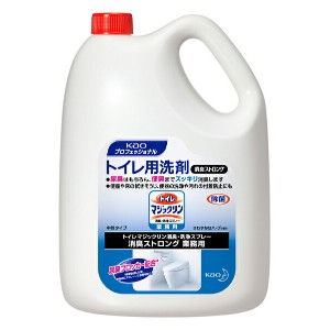 kao トイレマジックリン消臭・洗浄スプレーストロング4.5L×1本【業務用/除菌/尿臭/花王】