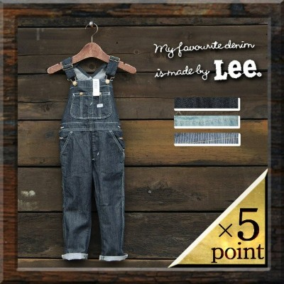 【Lee】デニムオーバーオール61537) Kid's(61537-0) □ LEE KIDS OVERALL