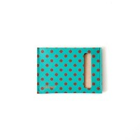 planar (プラナー) Card Case S (カードケース 財布) 【Green and Red Dots】