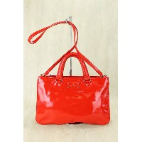 kate spade new york◆ショルダーバッグ/RED【中古】【バッグ】