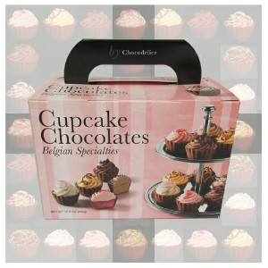 カップケーキ チョコレート ベルギー 6種 450g Cupcake Chocolates Belgian Specialties 【smtb-ms】0569530
