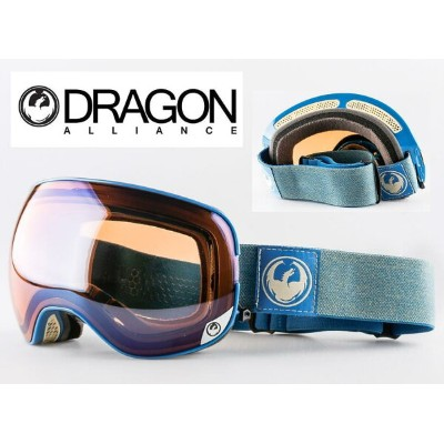 ASIAN-FIT 2017■DRAGON ゴーグル■GOGGLE■X2■HONE BLUE■