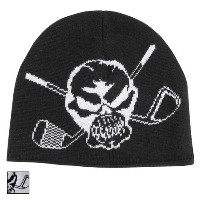 Tattoo Golf Short Knit Woven Skull Beanies 【ゴルフ ゴルフウェア>帽子】