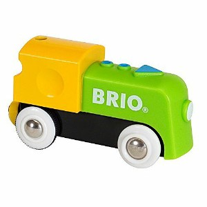 BRIO ブリオ マイファーストバッテリーパワー機関車 木のおもちゃ 電車 子供 誕生日プレゼント 誕生日 男の子 男 出産祝い 1歳 2歳 3歳 |列車 ギフト 北欧 おもちゃ 乗り物 安心 幼児...