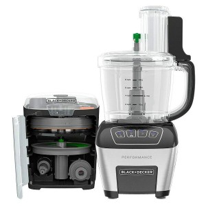 ブラック・アンド・デッカー フードプロセッサー 11カップ BLACK+DECKER FP6010 Performance Dicing Food Processor Digital Control