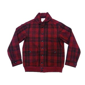 Buzz Rickson's[バズリクソンズ] ウールジャケット BR13579 レッド チェック柄 JACKET,WOOL,RED PLAID (RED) 送料無料 代引き手数料無料 【RCP】