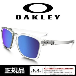 オークリー サングラス OAKLEY ラッチ 日本正規品 【 LATCH SQ/Matte Clear/Sapphire Iridium】Asia Fit[009358-04] SUNGLASS...