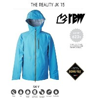 【 送料無料 】【 2016 2017 REW OUTERWEAR 】 REALITY JK 15 SKY BLUE GORE-TEX 3L 3LAYER 3レイヤー スカイ ブルー...