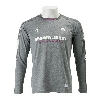 【SOCCER JUNKY】 サッカージャンキー Foot Routine ロングプラシャツ SJ16515 WSP 133HGRY