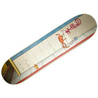 【トイマシーン デッキ】TOY MACHINE Deck MATT BENNETT GRAFFITI CLEAN UP PRO 8.0x32●