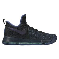 "Nike KD IX 9 ""Dark Purple Dust"" メンズ Obsidian/Dark Purple Dust-Black ナイキ バッシュ Kevin Durant ケビン・デュラント"