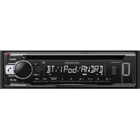 KENWOOD ケンウッド MP3/WMA/AAC/WAV/FLAC対応 CD/USB/iPod/Bluetooth 1DINレシーバー U320BT