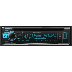 KENWOOD ケンウッド MP3/WMA/AAC/WAV/FLAC対応 CD/USB/iPod/Bluetooth 1DINレシーバー U360BT