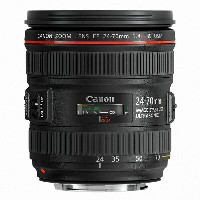 【中古】【1年保証】【美品】 Canon 標準ズーム EF 24-70mm F4 L IS USM