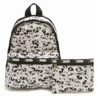 LeSportsac 7812-P928 BASIC BACKPACK ディズニー ベーシック リュックサック バッグ MICKEY LOVES MINNIE/ 【f】【新品/未使用/正規品】