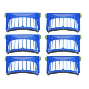aokur iRobot互換品 ルンバ 500シリーズ用 フィルター 6個セット aokur Pack of 6 Vacuum Cleaner Filter Replacement for...