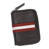 BALLY(バリー)小銭入れTRAINSPOTTINGBRTEBIOTCOINPURSECHOCOLATERED/WHITE
