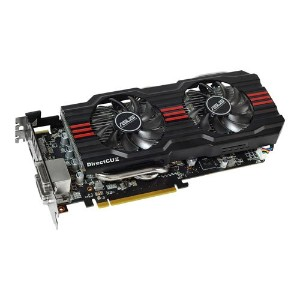 ASUSTeK AMD RADEON HD7870 オリジナルFAN「DirectCu II」搭載オーバークロックモデル HD7870-DC2TG-2GD5-V2 【PCI-Express3.0】